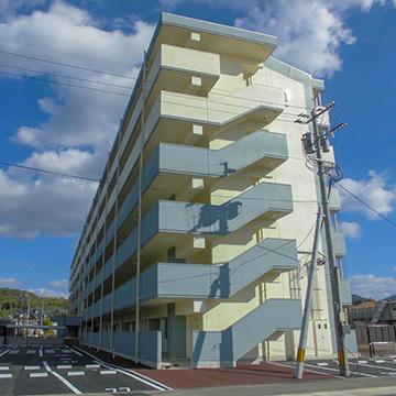 大峰改良住宅改善共同住宅A号棟建築主体工事